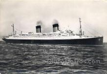 shi058387 - Ile De France, French Line Enlarged Continental Size Ship, Ships, OceanLiner Postcard Postcards