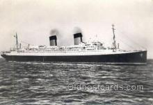 shi058389 - Ile De France, French Line Enlarged Continental Size Ship, Ships, OceanLiner Postcard Postcards