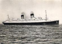 shi058390 - Ile De France, French Line Enlarged Continental Size Ship, Ships, OceanLiner Postcard Postcards