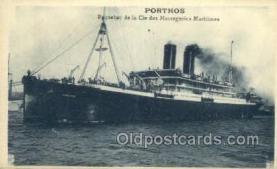 shi058401 - Porthos Ship, Ships Postcard Postcards