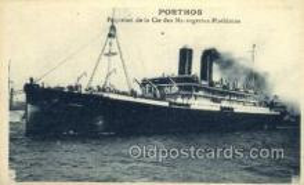 shi058402 - Porthos Ship, Ships Postcard Postcards