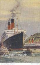 shi058404 - RMS Camania, Cunard Ship, Ships, Postcard Post Cards