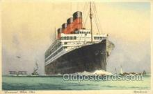shi058408 - Aquitania Ship, Ships, Postcard Post Cards