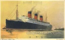 shi058411 - Berengaria, Cunard White Star Ship, Ships, Postcard Post Cards