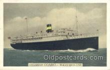 shi058432 - Coamo Ship, Ships, Postcard Post Cards