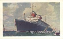 shi058447 - SS America Ship, Ships, Postcard Post Cards