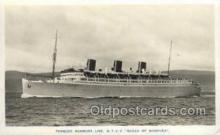 shi058450 - QTEV Queen Of Bermuda Ship, Ships, Postcard Post Cards