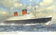shi058452 - RMS Queen Elizabeth Ship, Ships, Postcard Post Cards