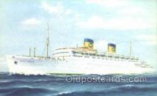 shi058454 - SS Queen Frederica Ship, Ships, Postcard Post Cards