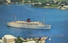 shi058456 - QTEV Queen Of Bermuda Ship, Ships, Postcard Post Cards