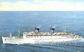 shi058458 - RHMS Queen Frederica Ship, Ships, Postcard Post Cards