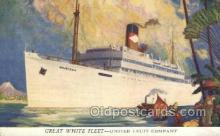 shi058462 - Quirigua, United Fruit Company Ship, Ships, Postcard Post Cards