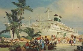 shi058467 - Grace Line Ship, Ships, Postcard Post Cards