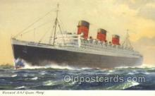 shi058471 - Queen Mary Ship, Ships, Postcard Post Cards