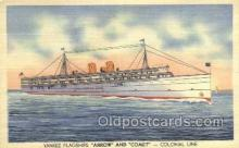 shi058473 - Arrow and Comet Ship, Ships, Postcard Post Cards