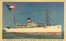 shi058479 - SS Jamaica Ship, Ships, Postcard Post Cards
