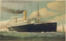 shi058480 - Swedish American Liner New York Ship, Ships, Postcard Post Cards