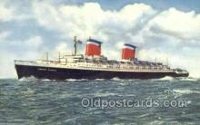 shi058488 - SS United States Ship, Ships, Postcard Post Cards
