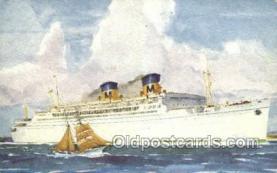 shi058489 - SS Lurline Ship, Ships, Postcard Post Cards