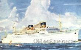 shi058490 - SS Lurline Ship, Ships, Postcard Post Cards