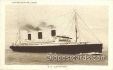 shi058491 - SS Leviathan Ship, Ships, Postcard Post Cards