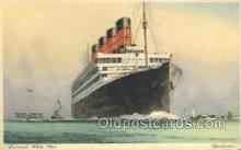 shi058493 - Aquitania Ship, Ships, Postcard Post Cards