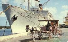shi058495 - Bahama Star Ship, Ships, Postcard Post Cards