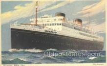 shi058496 - Britannic, Cunard White Star Ship, Ships, Postcard Post Cards