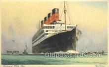 shi058511 - Aquitania, Cunard White Star Ship, Ships, Postcard Post Cards