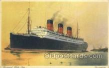 shi058512 - Berengaria, Cunard White Star Ship, Ships, Postcard Post Cards