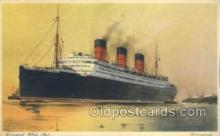 shi058513 - Berengaria, Cunard White Star Ship, Ships, Postcard Post Cards