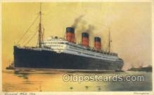 shi058514 - Berengaria, Cunard White Star Ship, Ships, Postcard Post Cards