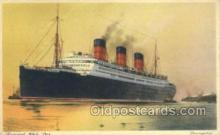 shi058515 - Berengaria, Cunard White Star Ship, Ships, Postcard Post Cards