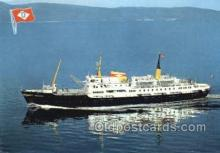 shi058525 - MS Nordnorge Enlarged Continental Size Ship, Ships, OceanLiner Postcard Postcards
