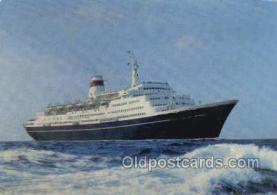 shi058526 - Taras Shevchenico Enlarged Continental Size Ship, Ships, OceanLiner Postcard Postcards