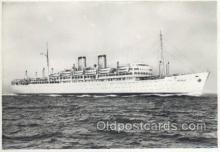 shi058527 - TN Irpinia Enlarged Continental Size Ship, Ships, OceanLiner Postcard Postcards