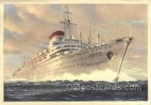 shi058528 - Italia Enlarged Continental Size Ship, Ships, OceanLiner Postcard Postcards