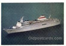 shi058543 - Russian Ship Enlarged Continental Size Ship, Ships, OceanLiner Postcard Postcards