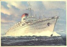 shi058544 - Italia Enlarged Continental Size Ship, Ships, OceanLiner Postcard Postcards