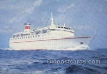 shi058547 - Enlarged Continental Size Ship, Ships, OceanLiner Postcard Postcards