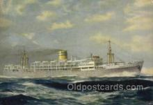 shi058549 - Patria Enlarged Continental Size Ship, Ships, OceanLiner Postcard Postcards