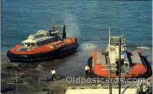 shi059241 - Hovercraft at Ryde Hovertravel Terminal Hovercraft Boat, Boats Postcard Postcards