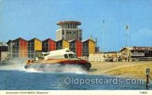 shi059244 - Ryde Hovertravel Terminal Hovercraft Boat, Boats Postcard Postcards