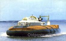 shi059246 - Ryde and Southsea Hovercraft Boat, Boats Postcard Postcards