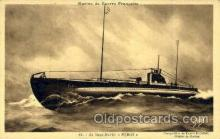 shi059249 - Le Sous Marin, Naval Hovercraft Boat, Boats Postcard Postcards