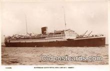 shi061001 - Rotterdam Lloyd Royal Mail Line MV Dempo  Ship Postcard Post Card