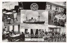 shi062001 - MS Jagersfontein NV Vereenigde Ship Postcard Post Card