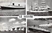 shi062012 - Le Havre  Ship Postcard Post Card