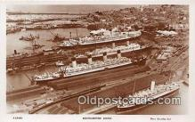 shi062020 - Southampton Docks  Ship Postcard Post Card