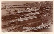 shi062021 - Southampton Docks  Ship Postcard Post Card